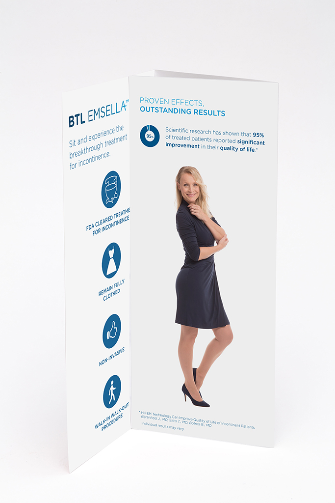 BTL Emsella Patient Brochure (100 Pieces)
